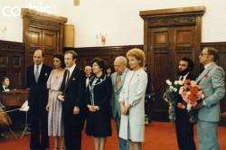 Бракосочетание Кристины Онассис и Сергея Каузова, 1978 год, Москва