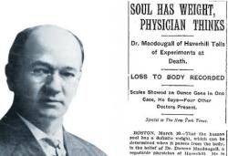 Сколько весит душа — эксперименты доктора МакДугалла