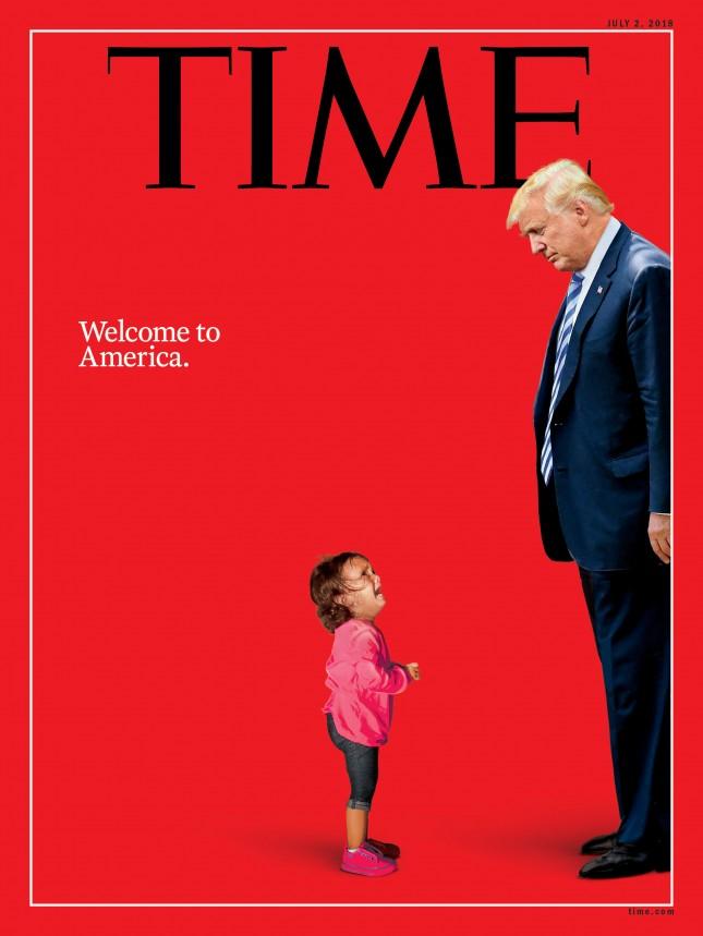 Джим Керри нарисовал ребенка, избиваемого Трампом
