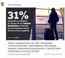 Куда мечтают мигрировать россияне