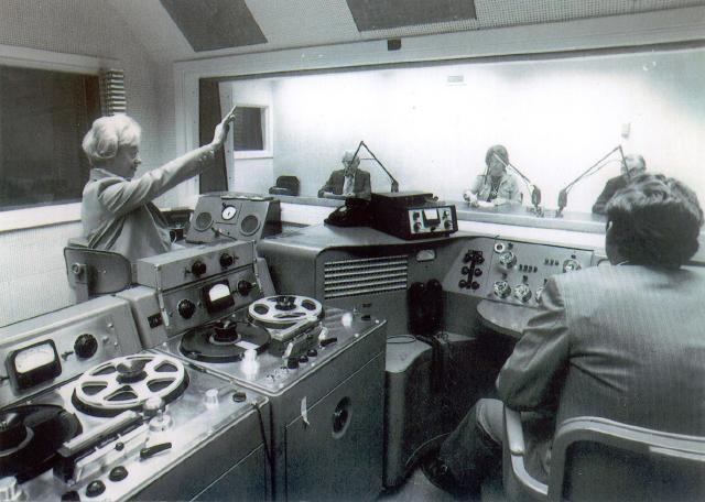 В студии голоса свободы, 1979 год, Вашингтон, США