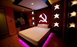 Просто интерьер номера в отеле, Бангкок