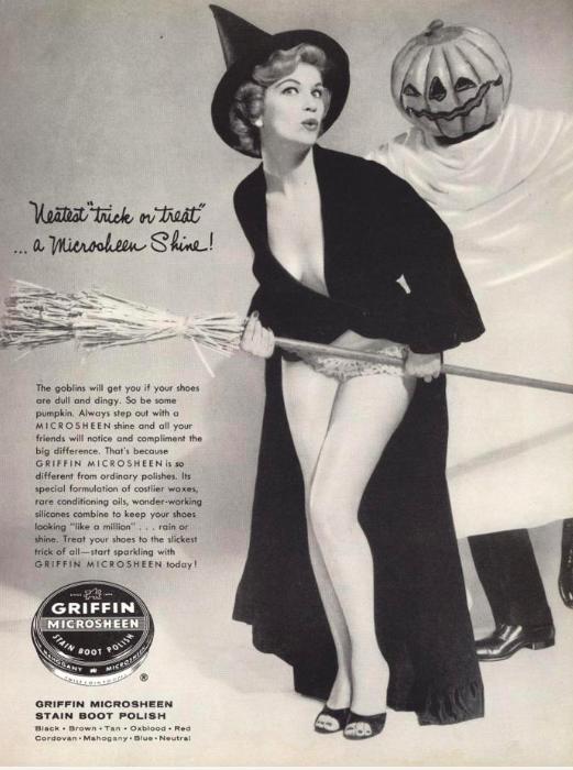 Реклама гуталина, 1950–е годы, США