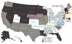 Америка и алкоголь. Статистика.